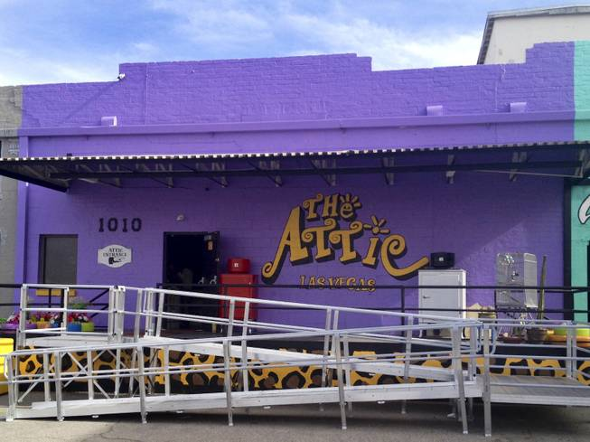 The Attic located in Downtown Las Vegas specializes in selling vintage clothing and novelty items.